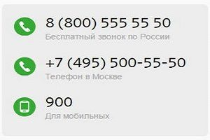 Куда звонить припроблемах с сбербанкомонлайн